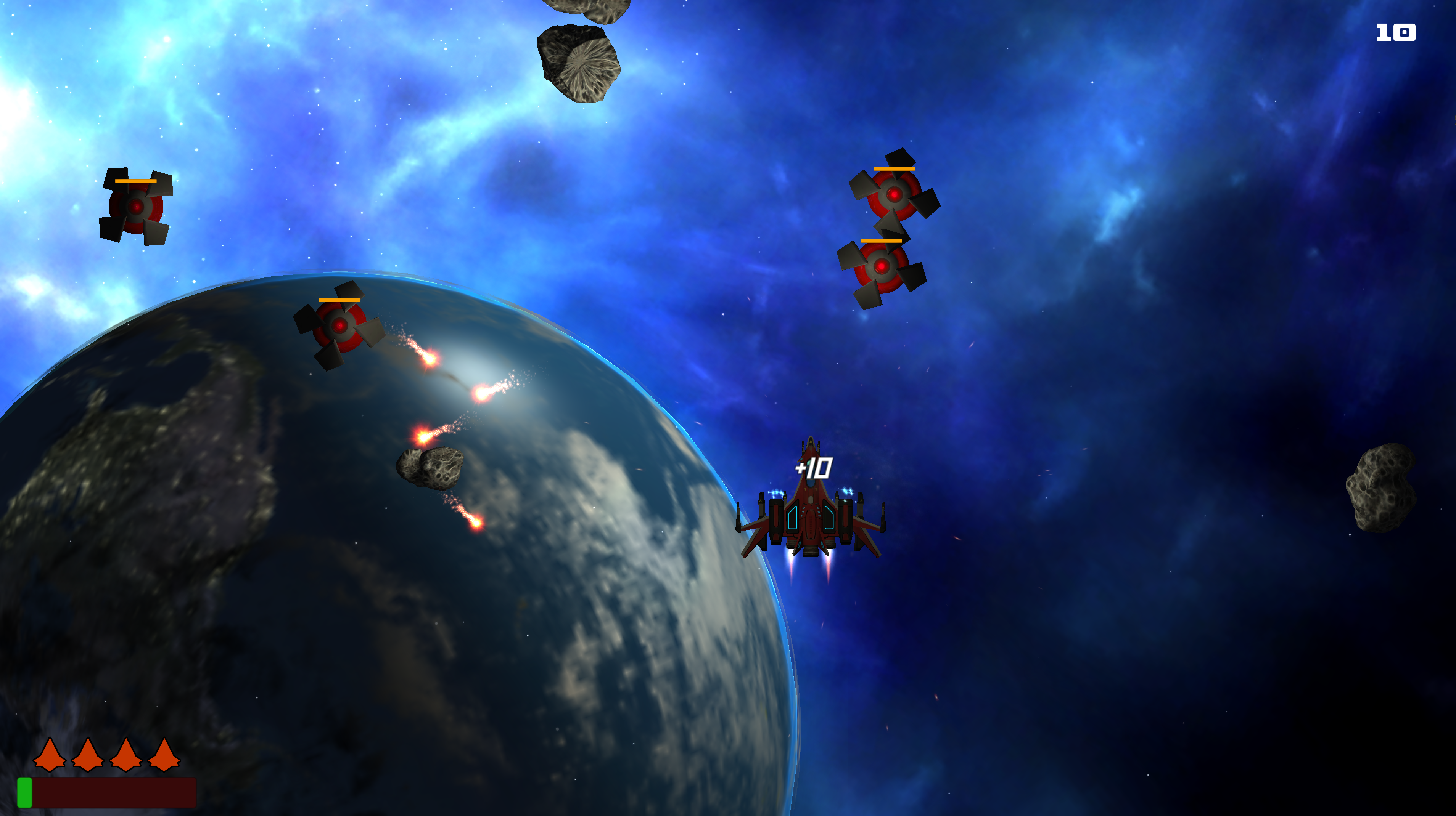 Space Shooter Iwall