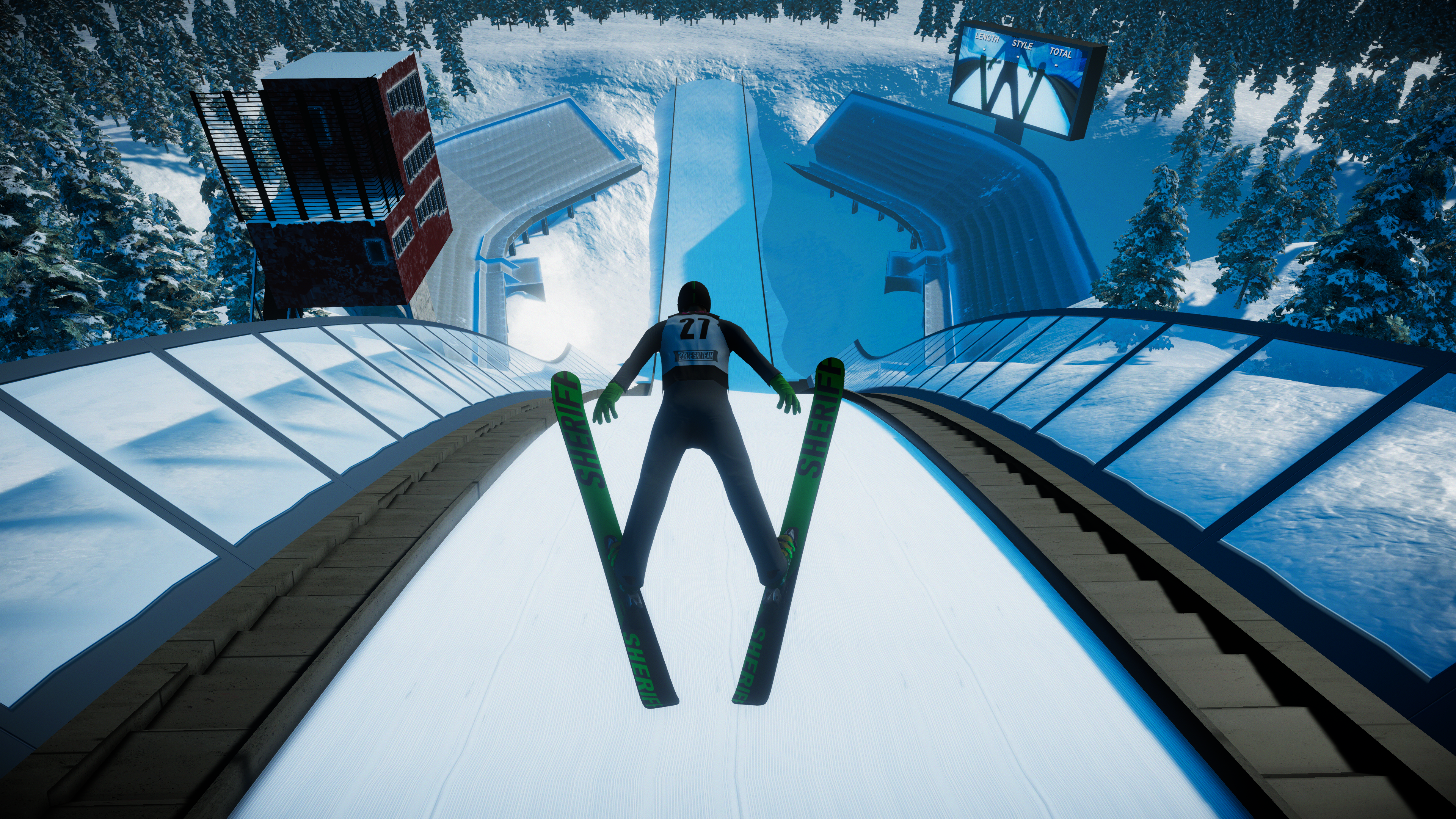 Ski Jumping Core, Coordination, Takeoff power